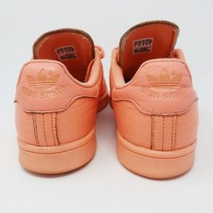 adidas Shoes - Adidas Stan Smith Tennis Leather Sneakers Sun Glow